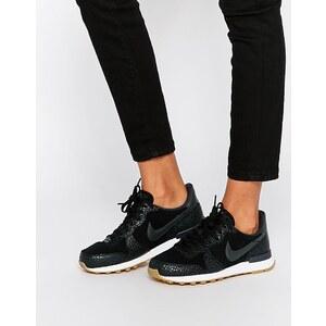 Nike - Internationalist - Schwarze, hochwertige Sneakers