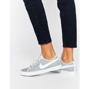 Nike - Primo Court - Texturierte, graue Sneakers