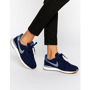 Nike - Internationalist Premium - Baskets - Bleu marine - Bleu marine