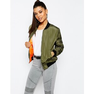 Missguided - Blouson aviateur - Kaki