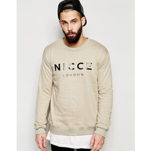 Nicce London - Sweatshirt - Steingrau