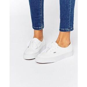 Vans Authentic - Decon - Weiße Ledersneakers - Echtweiß