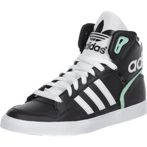 adidas Extaball W chaussures black/white/frog green