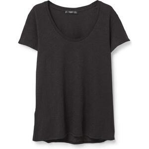 MANGO Meliertes Baumwoll-T-Shirt