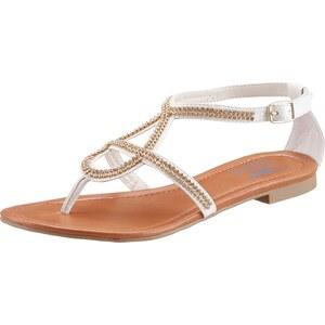 ARIZONA Sandale mit Schmucksteinen