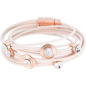 sweet deluxe Armband roségoldfarben/creme