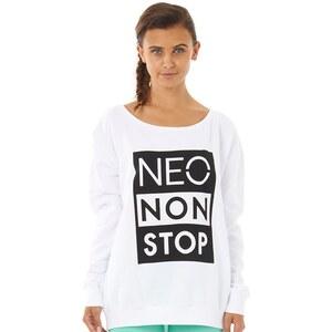 adidas Neo Damen Non S Sweat Pullover mit Rundhalsausschnitt Weiß