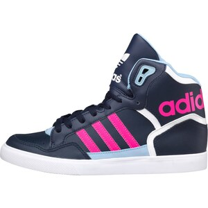 adidas Originals Damen Extaball Sneakers Navy/Pink/Himmelblau
