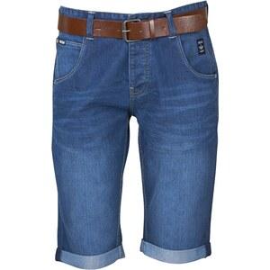 Firetrap Herren Stallin Mid Denim Shorts Blau