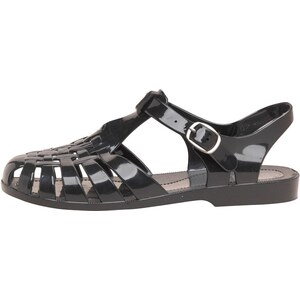 Fluid Damen Fisherman Jelly Sandalen Schwarz
