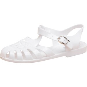 Fluid Damen Fisherman Jelly Sandalen Weiß