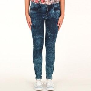 Only Damen Soft Regular Skinny Jeans Blau