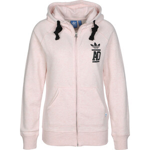 adidas Ft W sweat zippé à capuche light vista pink mel