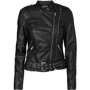 Vero Moda ANGIE Kunstlederjacke black