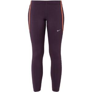 Nike Performance Tights noble purple/lt wild mango/(reflective silv)