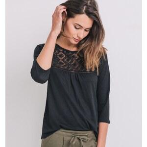 Promod T-shirt avec dentelle Femme