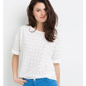 Promod T-shirt à motifs dévorés Femme