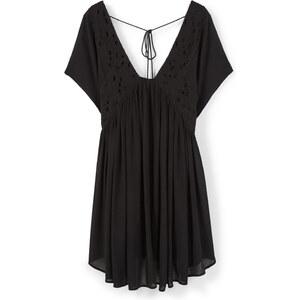 MANGO Kleid Mit Perlenstickerei