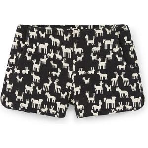 MANGO Shorts Aus Baumwoll-Jacquard