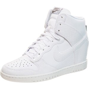 Nike Sportswear WMNS DUNK SKY Sneaker high white/cool grey