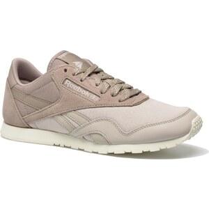 SALE - 10% - Reebok - Cl Nylon Slim Core - Sneaker für Damen / beige