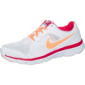 Nike Performance FLEX EXPERIENCE 2 Laufschuh Leichtigkeit white/atomic orange/light crimson