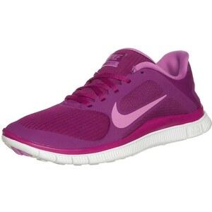 Nike Performance WMNS NIKE FREE 4.0 V3 Laufschuhe Natural Running bright magenta