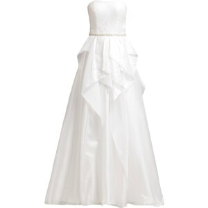 Unique Ballkleid cream white