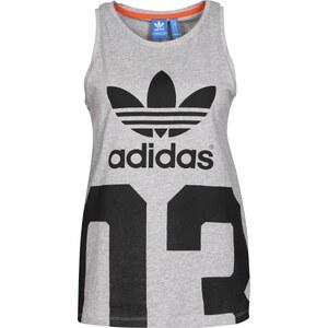adidas Basketball Number W Tanktop medium grey heather
