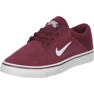 Nike Sb Portmore Gs Schuhe red/white