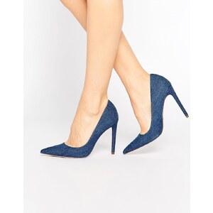 ASOS - PLATINUM - Chaussures pointues à talons - Bleu
