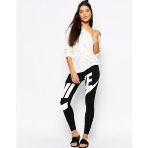 Nike - Leg-A-See - Leggings mit großem Logo vorne