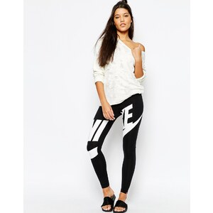 Nike - Leg-A-See - Leggings avec grand logo sur le devant