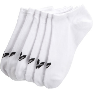 Adidas Chaussettes Trefoil Liner / BLANC