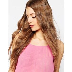 ASOS - Feines Haarband mit Herz - Gold