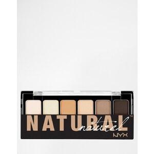 NYX - The Natural - Palette d'ombres à paupières - Multi