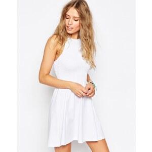 ASOS - Neckholder-Sommerkleid - Weiß