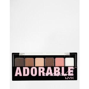 NYX - The Adorable - Palette d'ombres à paupières - Multi