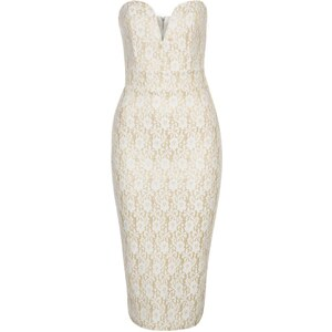 TFNC Cocktailkleid / festliches Kleid cream/gold