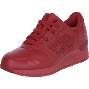 Asics Gel Lyte Iii Monochrome chaussures red/red
