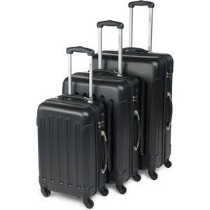 Lesara Lot de 3 valises à roulettes en ABS