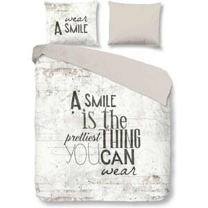 Rêves et Songes Smile - Parure de lit - blanc