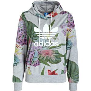 adidas Originals Sweatshirt TREFOIL grau