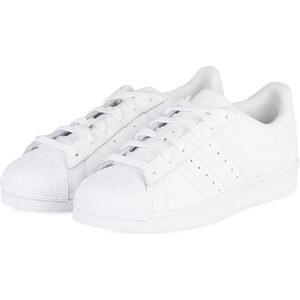 adidas Sneaker SUPERSTAR FOUNDATION weiß