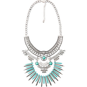 Loavies BLUE GLAM NECKLACE