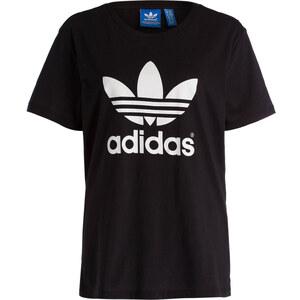 adidas Originals Boyfriend-Shirt TREFOIL schwarz