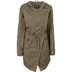 BODYFLIRT Jacke mit Kapuze langarm in grün für Damen von bonprix