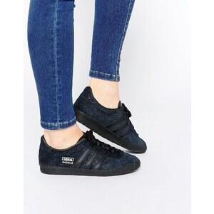 Adidas Originals - Gazelle OG - Baskets en daim pailleté - Noir - Noir