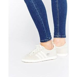 Adidas Originals - Gazelle OG - Baskets en daim - Blanc cassé - Crème