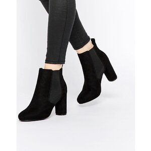 ASOS ENOUGH SAID - Chelsea-Ankle-Boots - Schwarz
